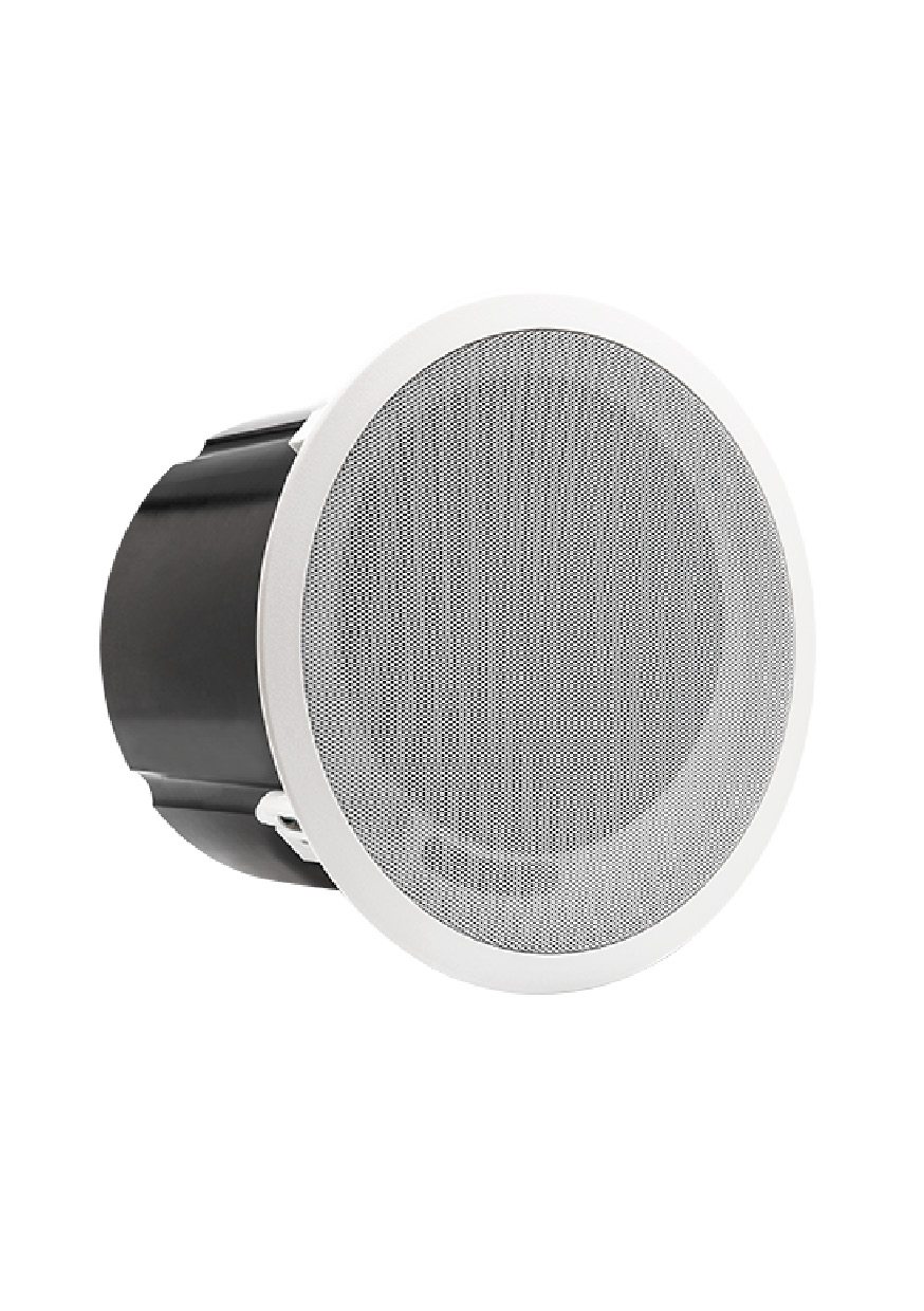 """Compact passive 6"""" ceiling mount subwoofer"""